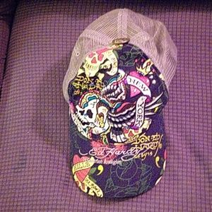 Ed Hardy by Christian Audgier hat.